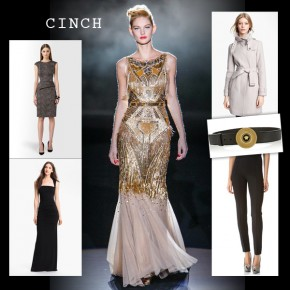 It's a Cinch: 5 Fall Pieces That Will Make Your Waist Look Amazing