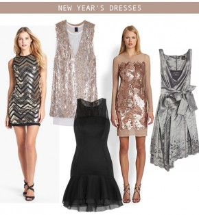 The Perfect Dresses for New Year's Eve