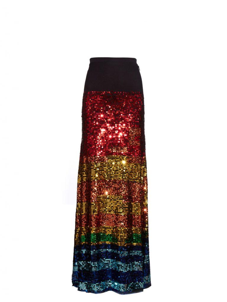 Preen Line Sequinned Maxi Skirt