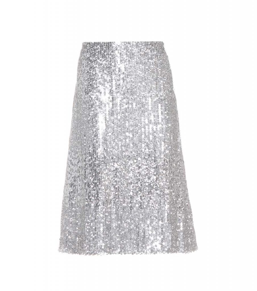 Nina Ricci Sequin Skirt