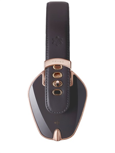 Pryma Rose Gold and Dark Gray Headphones