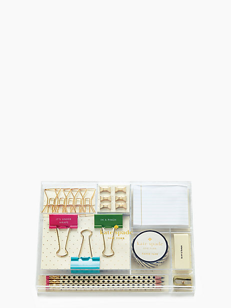 Kate Spade Whistle While You Work Tackle Box