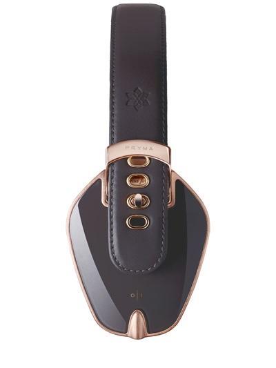 Pryma Rose Gold and Dark Gray Headphones