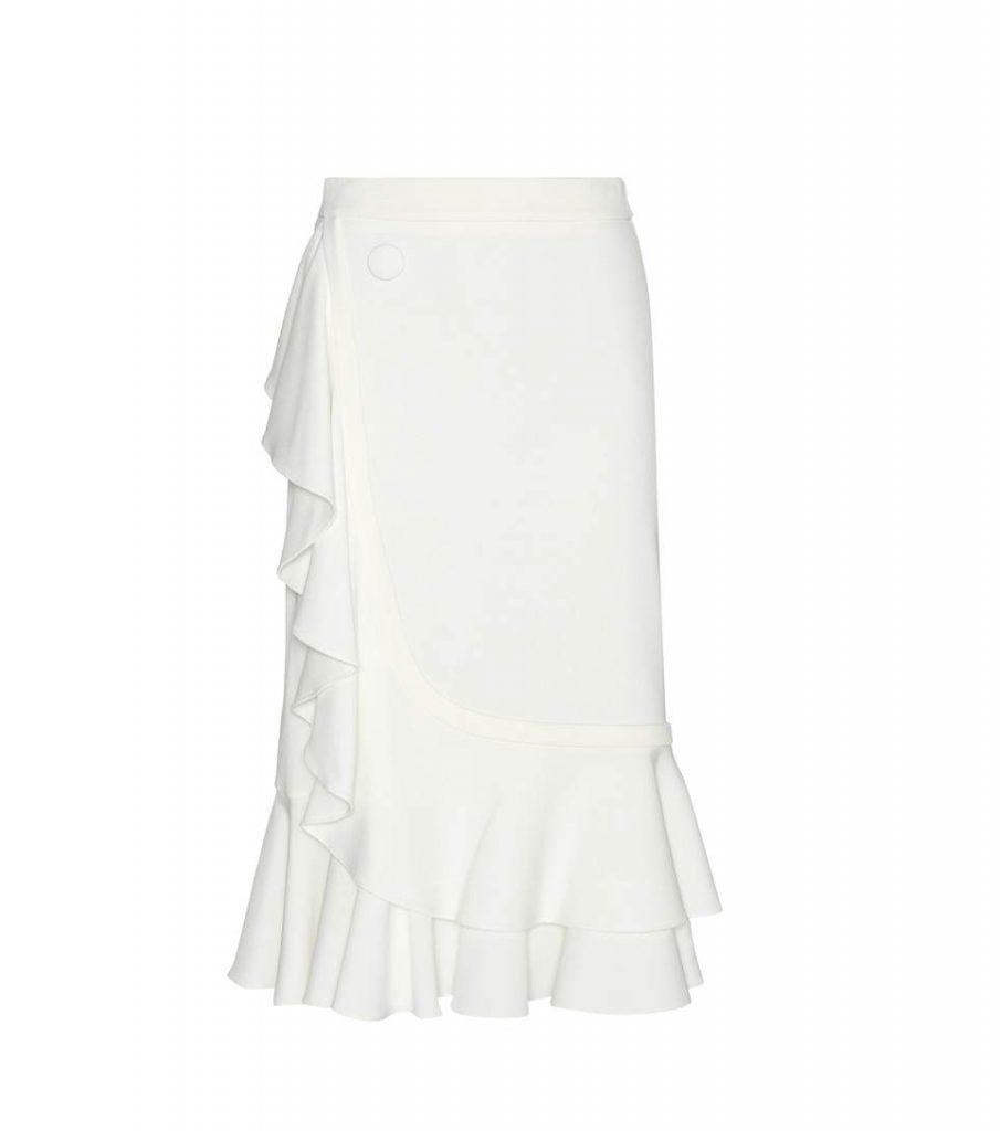 J.W. Anderson Asymmetric Ruffle Skirt