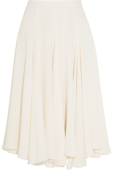 Co Fluted Crepe Skirt