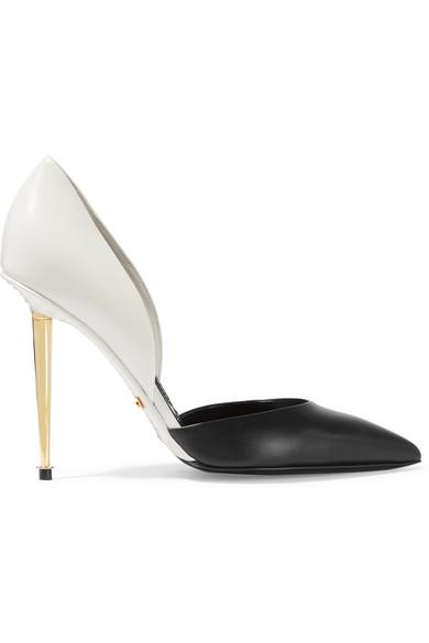 Tom Ford D'Orsay Two-tone Leather Pumps