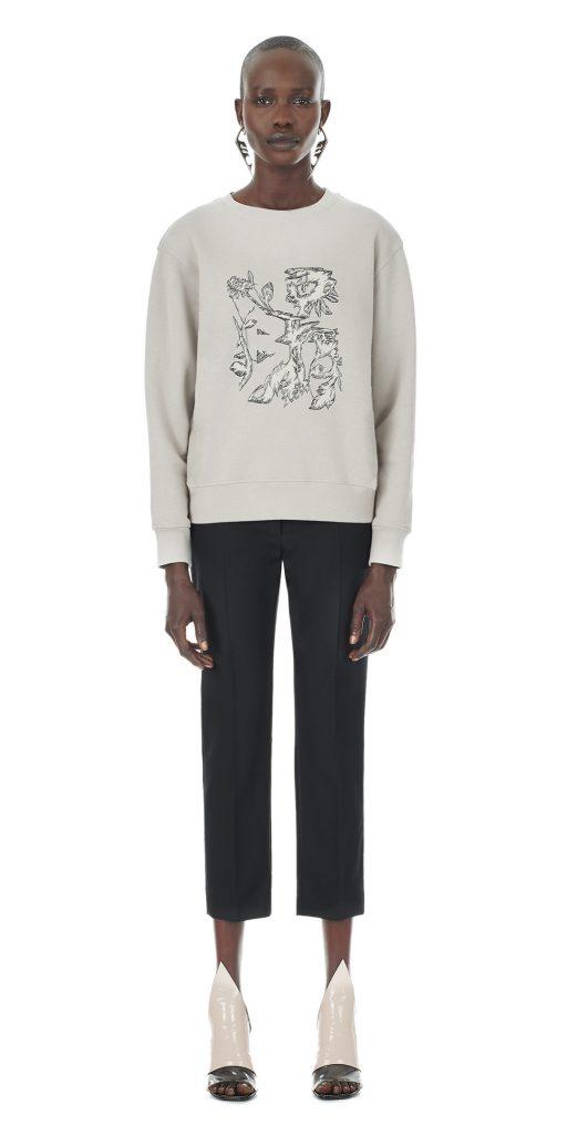 Balenciaga Flowers Sweatshirt