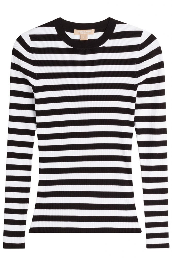Michael Kors Collection Striped Pullover