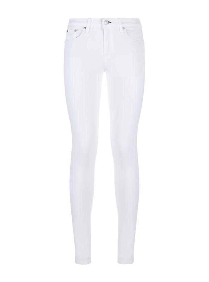 Rag & Bone Skinny White Jean