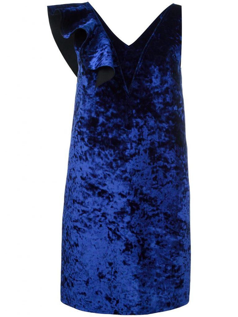 msgm-ruffled-velvet-dress