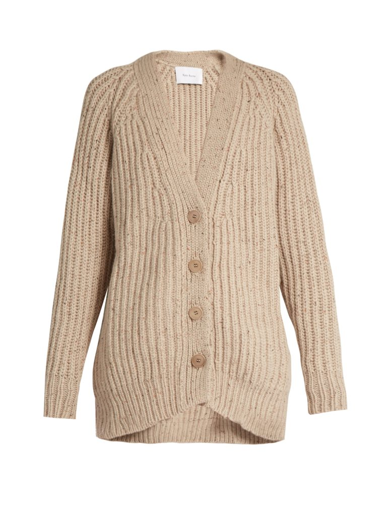 ryan-roche-ribbed-knit-cashmere-cardigan