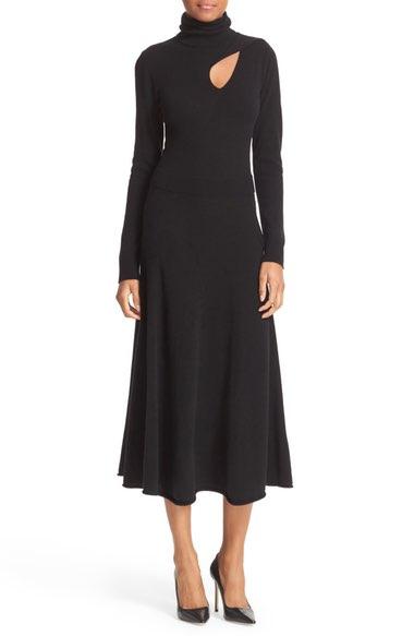 A.L.C. Alexander Cutout Wool & Cashmere Dress