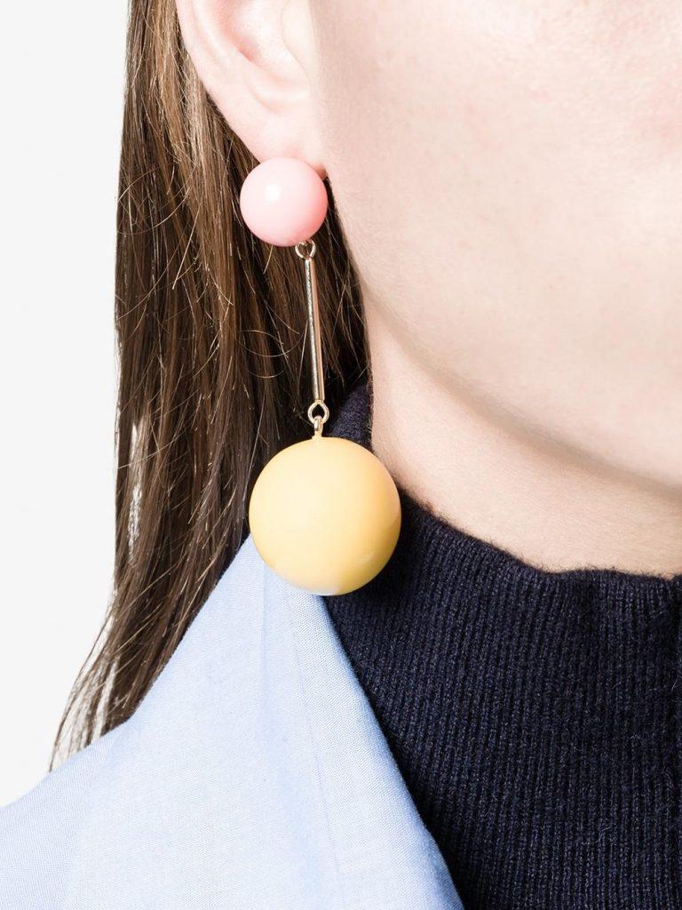 J.W.Anderson Sphere Drop Earrings