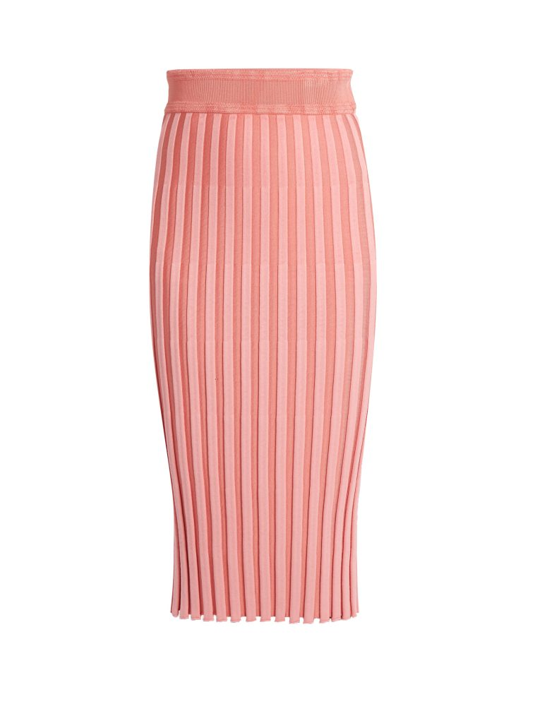 Altuzarra Diamon Ribbed Midi Skirt
