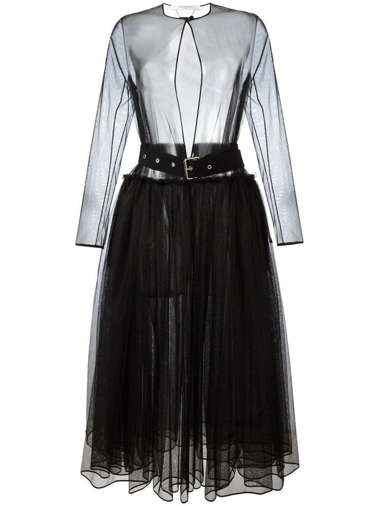 GIVENCHY_Tulle Dress