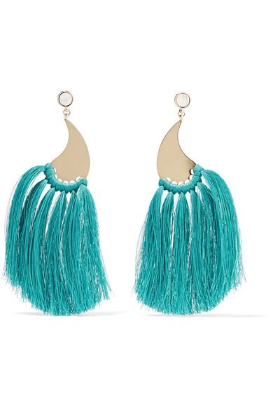 Etro Gold-tone Tassel Earrings