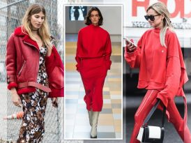 Red Alert: The Color That Dominated Fashion Month