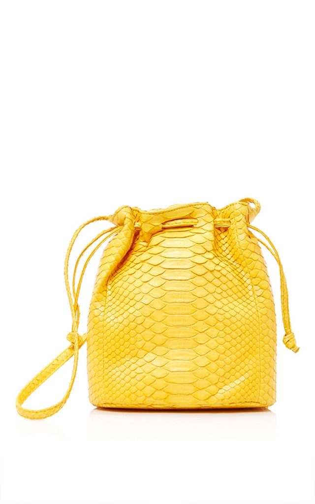 Hunting Season Python Bucket Bag