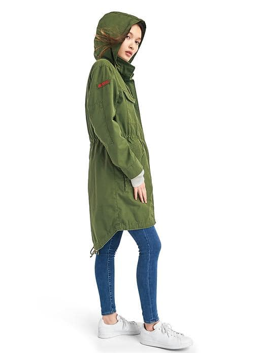 Gap x (RED) 2-in-2 Fishtail Parka