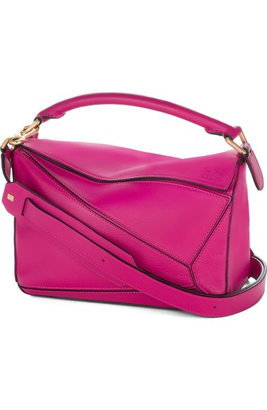 Loewe Mini Puzzle Calfskin Leather Bag