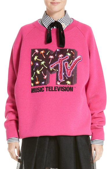 Marc Jacobs x MTV Logo Sweatshirt