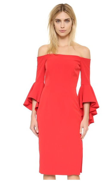 Milly red dress
