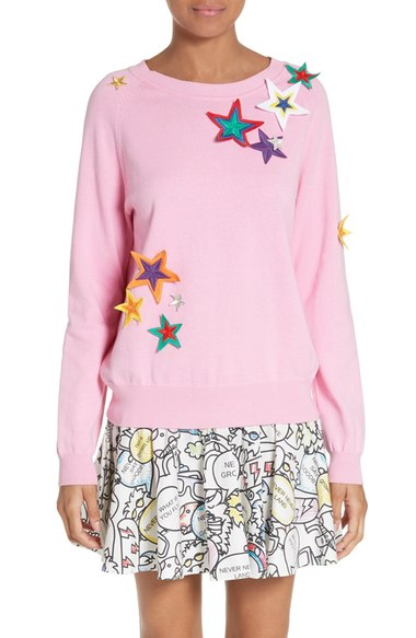 Mira Mikati Star Appliqué Sweater