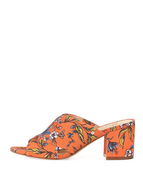 Sam Edelman Stanley Floral Crisscross Sandal