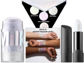 Get a Prismatic Glow With Holographic Makeup