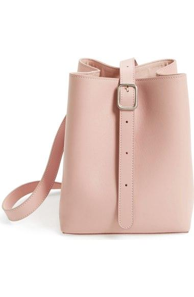 Creatures of Comfort Small Smooth Leather Apple Bag