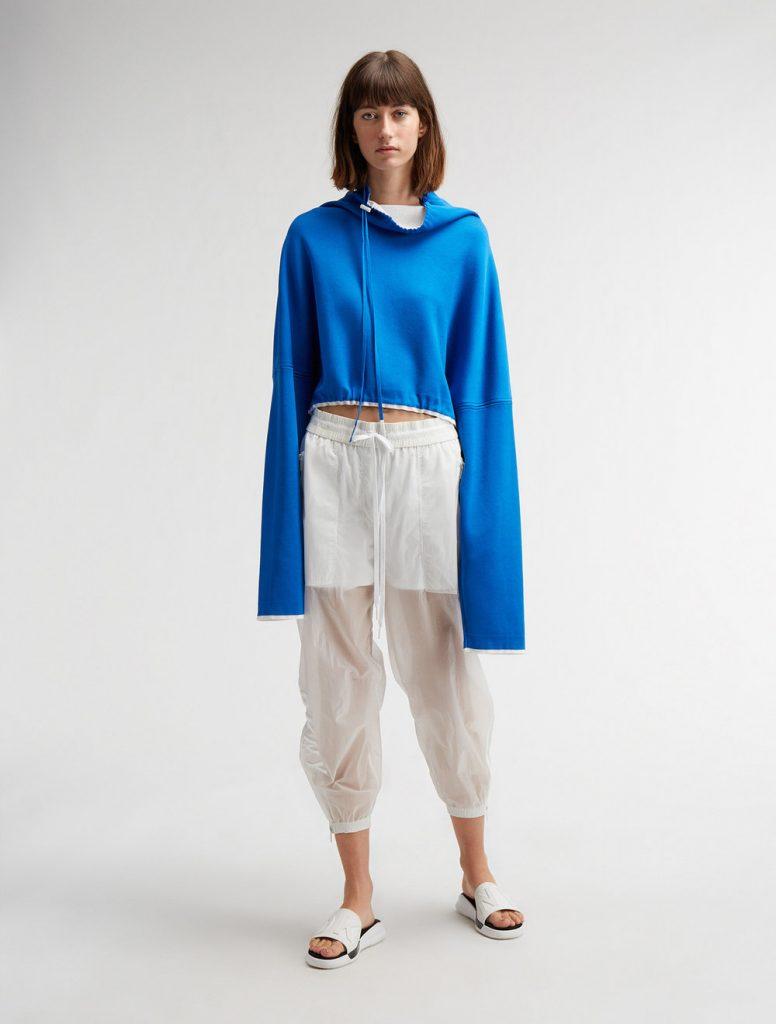 DKNY_blue hoodie