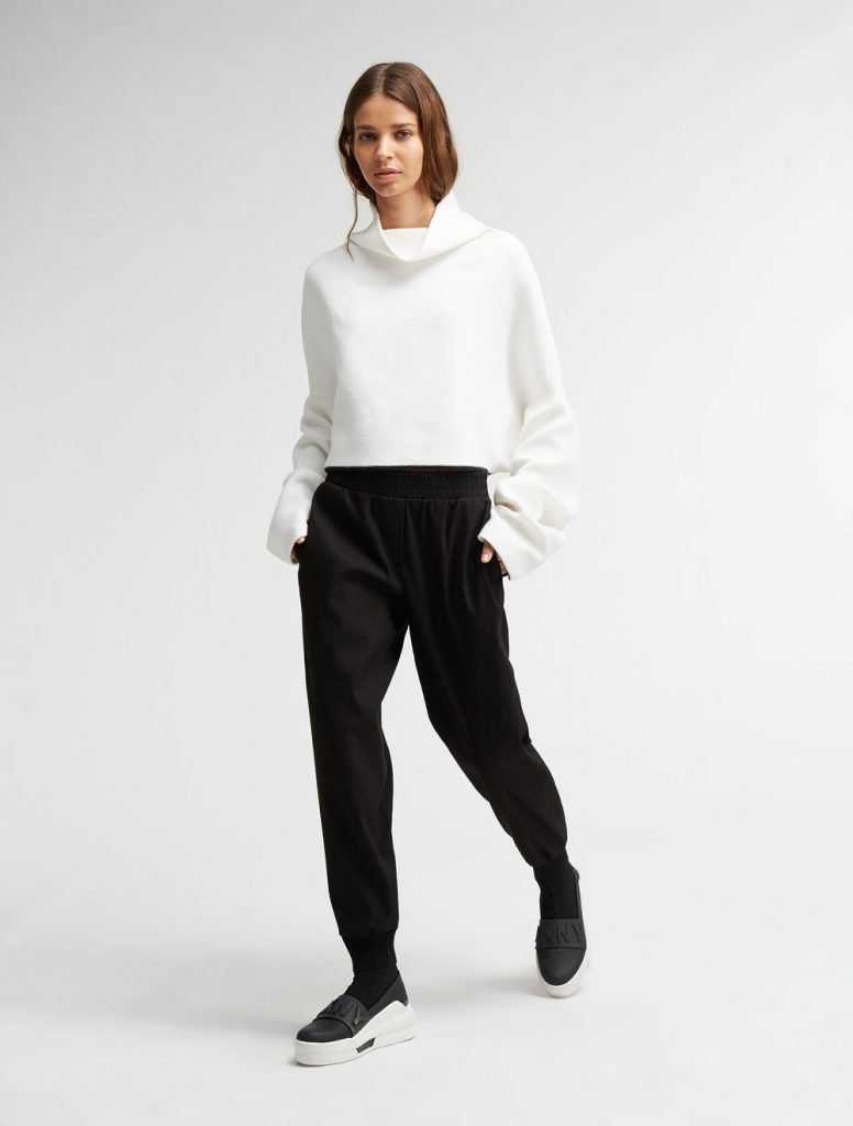 DKNY_cropped sweater
