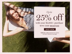 25% Off Spring Sale At Moda Operandi