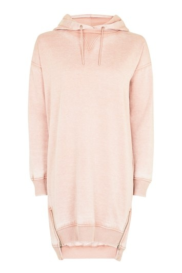 Topshop Hoodie Sweat Dress