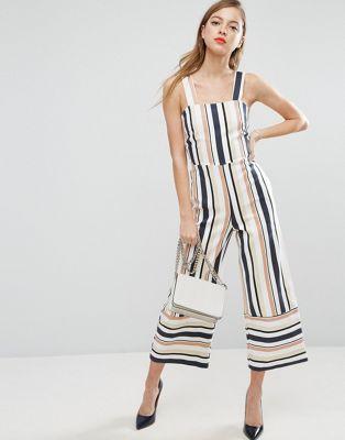 ASOS striped jumpsuit