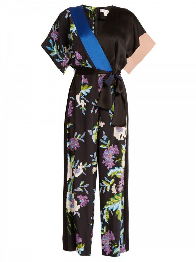 DVF Silk Jumpsuit