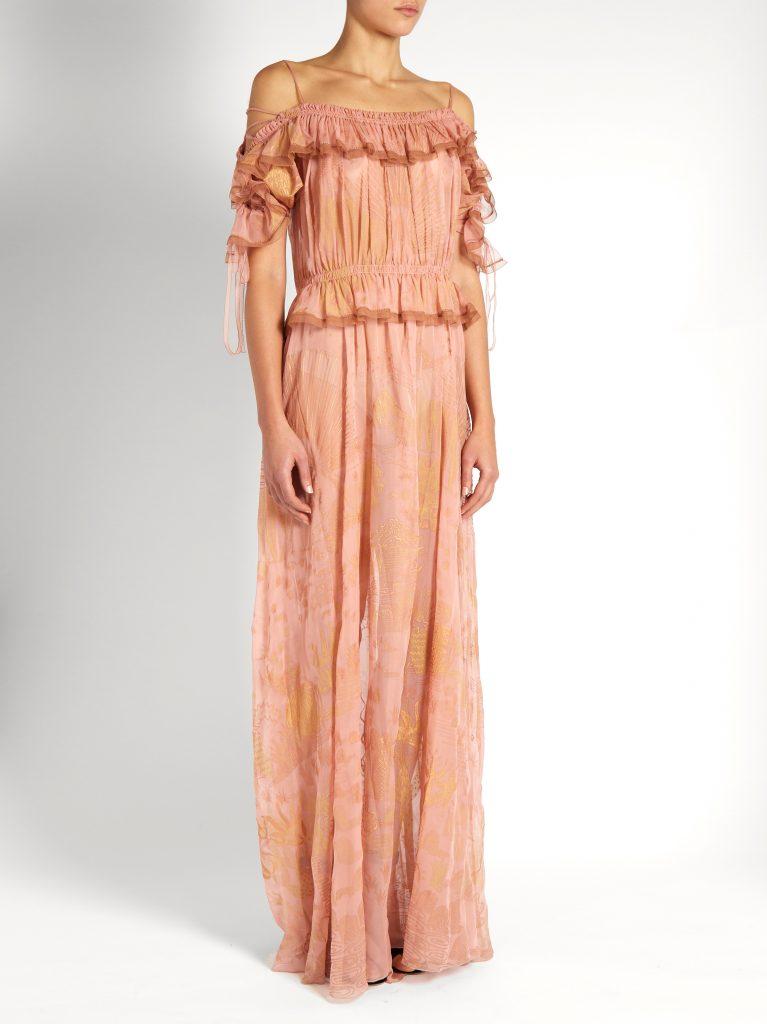 Valentino_silk gown