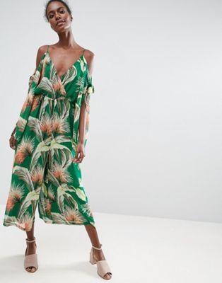 ASOS tropical jumpsuit