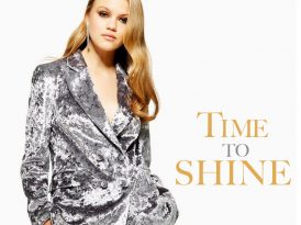 Time to Shine: Holiday Party Ready Metallic Pieces