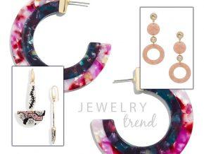 Jewelry Trend: Resin Earrings