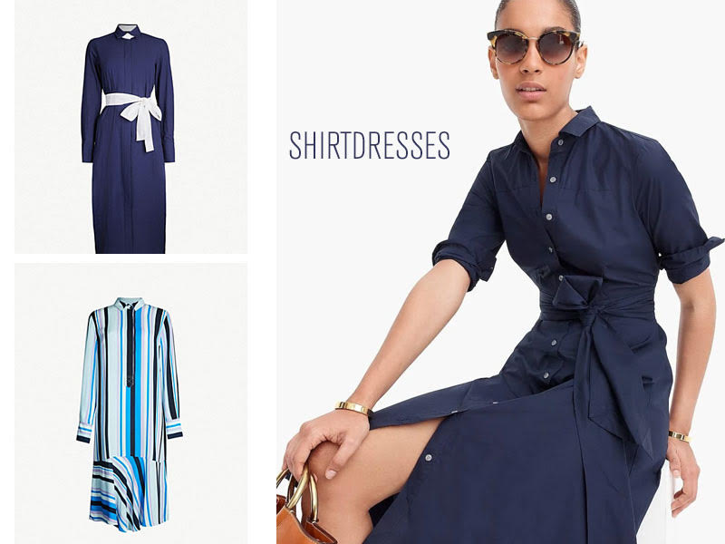 ae8bca049831f0 Shirtdresses are some of our go-to pieces in the warmer months. Easy to wear  and very chic, this style of dress borrows details from what was typically  ...