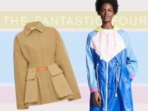 The Fantastic Four: Spring Coat Trends