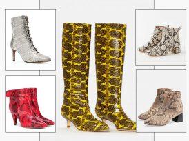 Natural Instincts: Make the Case for Snake Skin Boots