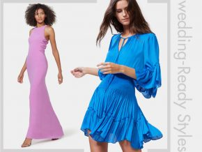 Be Our Guest: Wedding-Ready Styles from Halston Heritage