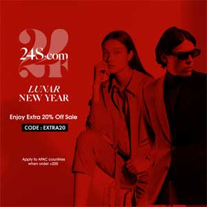 24S | Lunar New Year - EXTRA 20% OFF SALE WITH CODE EXTRA20 (APAC)
