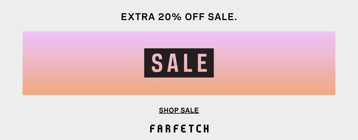 FARFETCH 80% OFF Sales