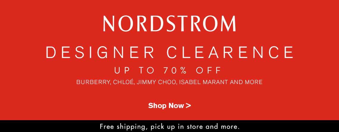 Nordstrom Designer Sales